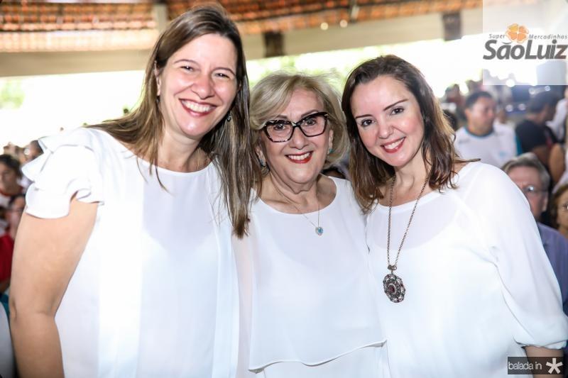 Lia Ferreira Gomes, Socorro França e Nicole Barbosa