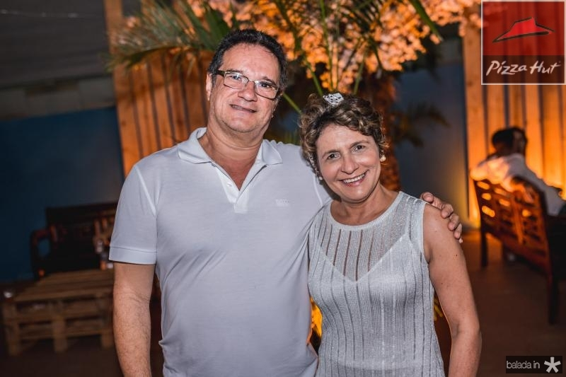Fernando Mendes e Sandra Rocha