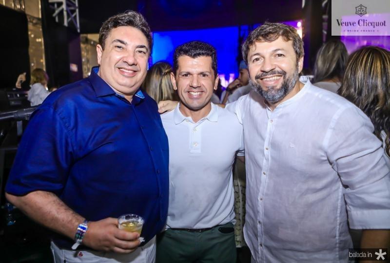 Marcos Dias Branco, Erick Vasconcelos e Elcio Batista