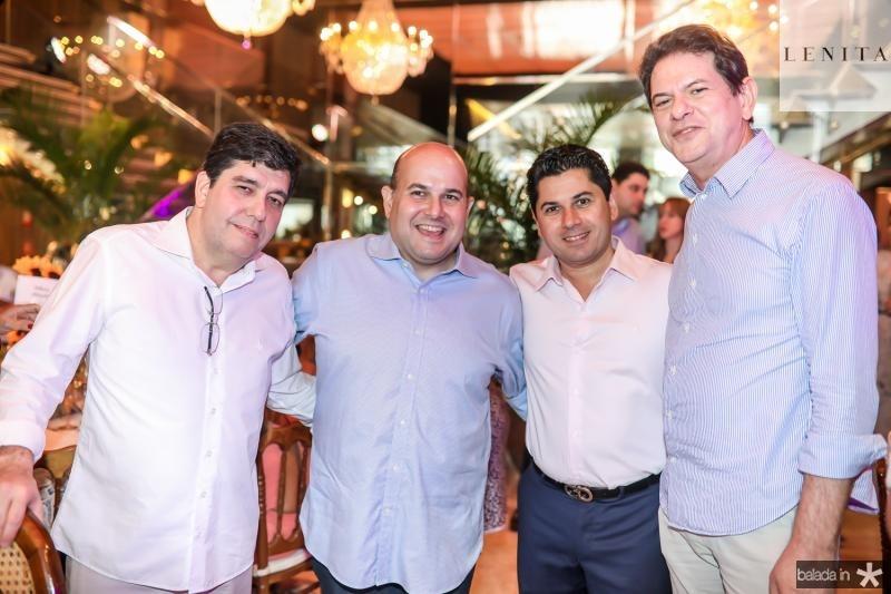 Carlos Roberto Martins, Roberto Claudio, Pompeu Vasconcelos e Cid Gomes