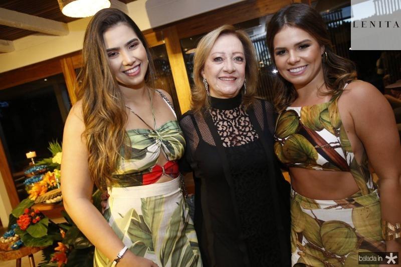 Suzana Geleilate, Tania Teixeira e Leticia Studart