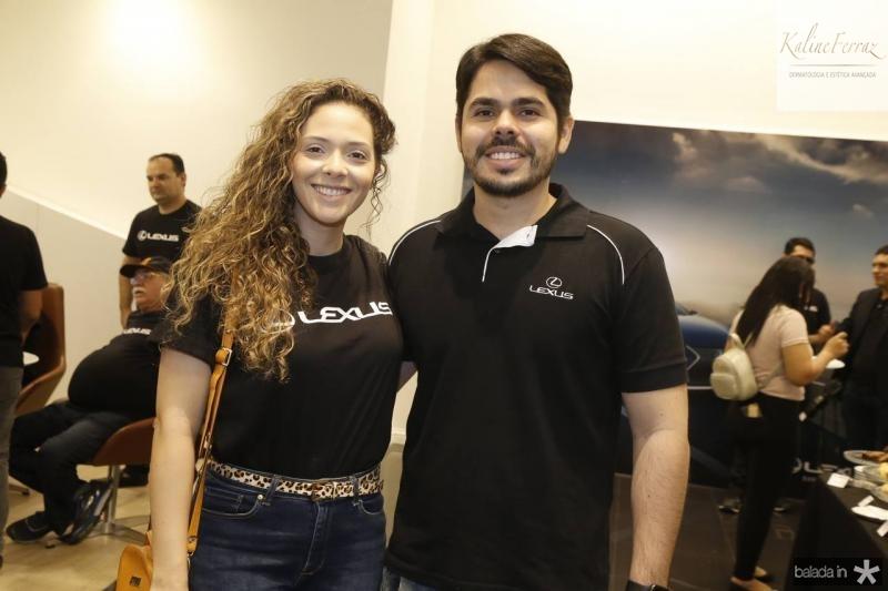 Gabriela Teixeira e Pedro Lima