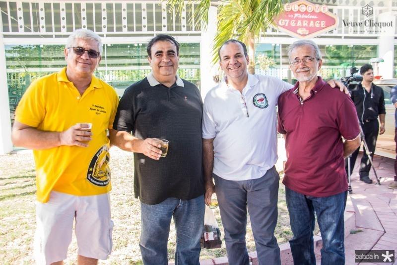 Eudes Machado, Periclis Gomes, Daniel Coelho e Mansueto Magalhaes