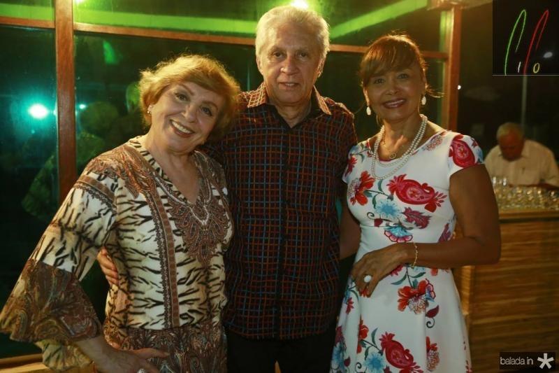 Ana e Franze Moraes e Ana Cristina