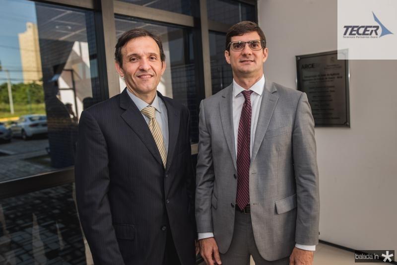 Carlos Cintra e Marcos Fiuza