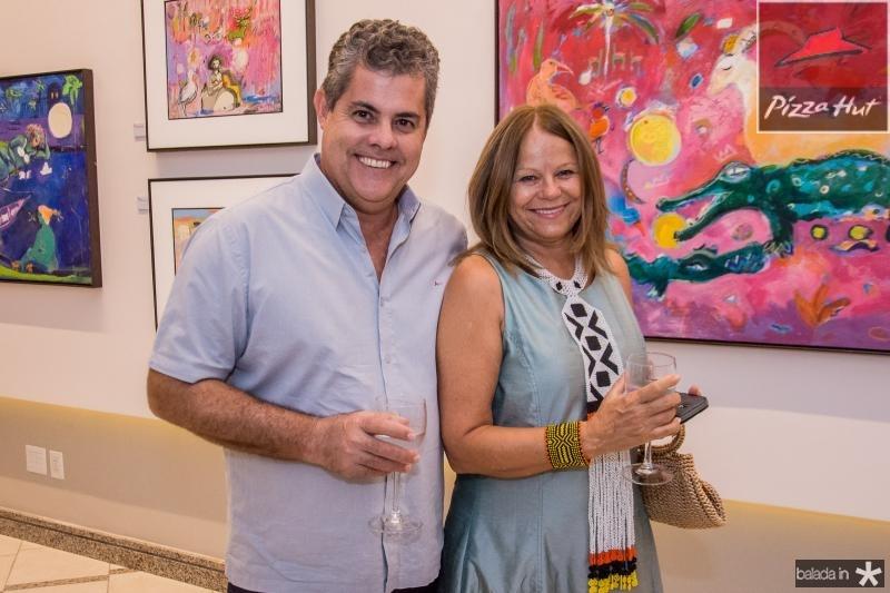 Claudio Albuquerque e Mariola Landowska