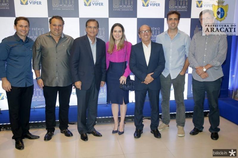 Fabio Albuquerque, Patriolino Dias, Beto Studart, Agueda Muniz, Andre Montenegro, Gama Filho e Carlos Gama
