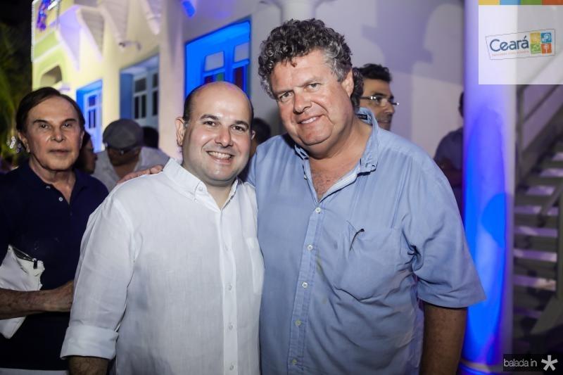 Roberto Claudio e Evandro Colares