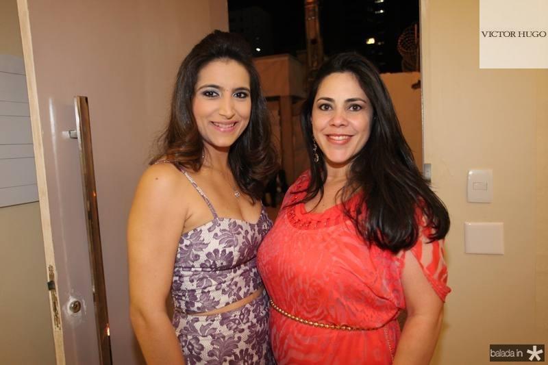Camila Rodrigues e Vera Lucia