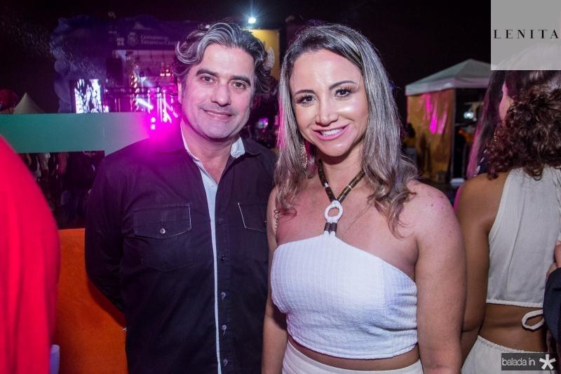 Jose Jorge Vieira e Izara Parente