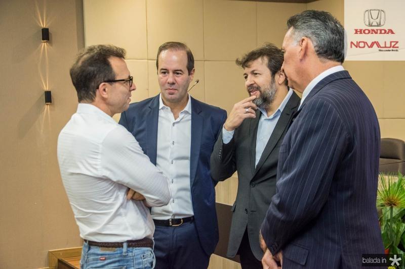 Antonio Vidal, Cesar Ribeiro, Elcio Batista e Artur Bruno