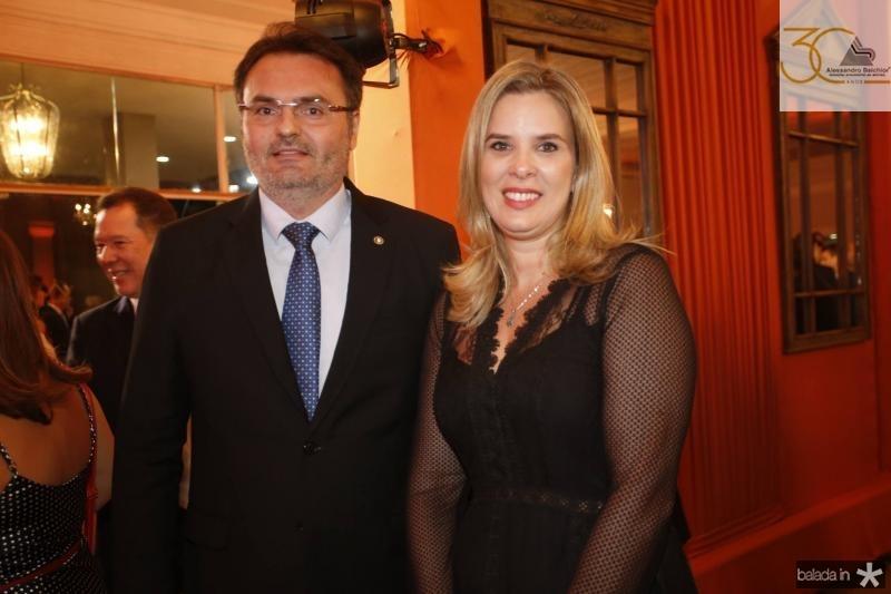Leonardo Moura e Mariana Lobo