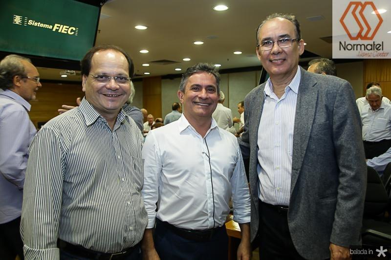 Fernando Ximenes, Benildo Aguiar e Francisco Teixeira
