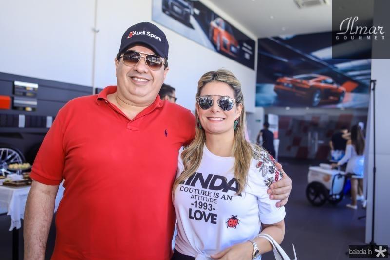 Marcos Dias Branco e Tatiana Luna