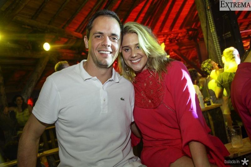 Roberto Franck e Bruna Poly