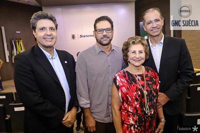 Marcos Oliveira, Marcus, Lucia e Regis Medeiros