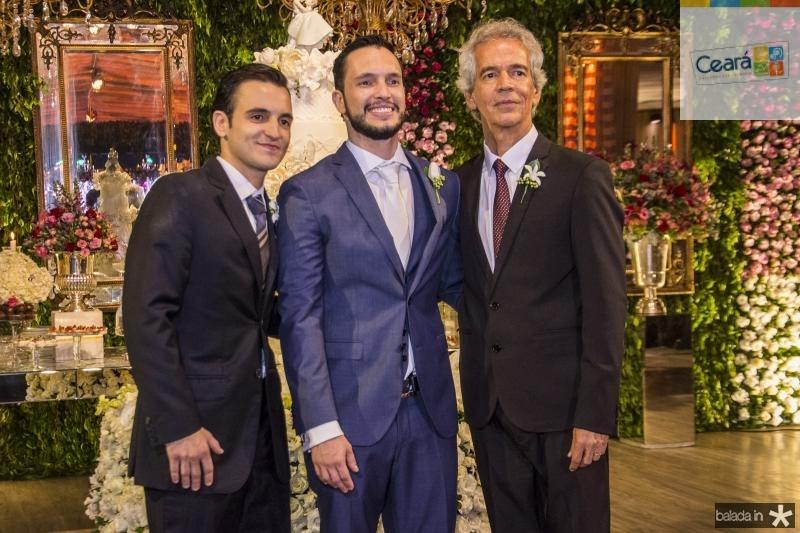 Rodrigo, Roberto Filho e Roberto Cabral