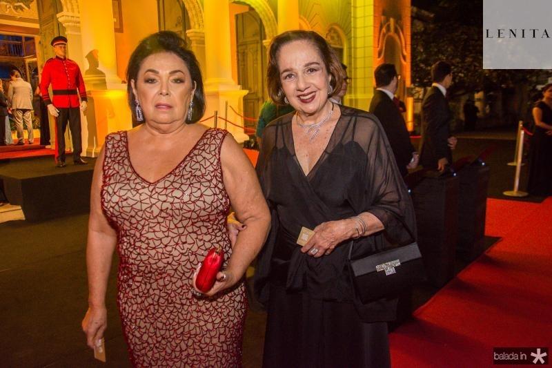 Terezinha Carvalho e Tania Leitao