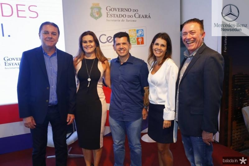 Eliseu Barros, Ivana Bezerra, Erick Vasconcelos, Claudia Diniz e Darlan Leite 1