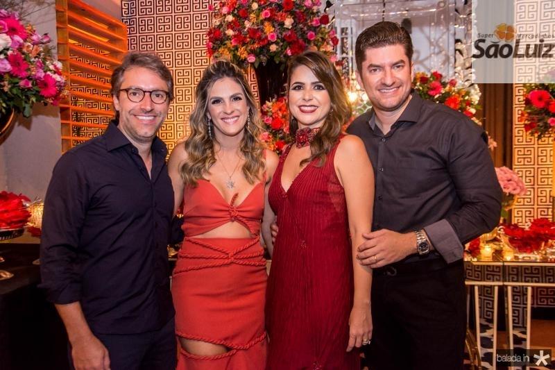 Francisco Marinho, Mariana Marinho, Camila Benevides e Paulo Jose Benevides