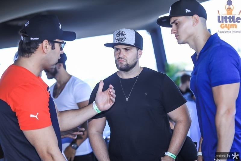 Thiago Albuquerque, Cristiano Junqueira e Rodrigo Junqueira