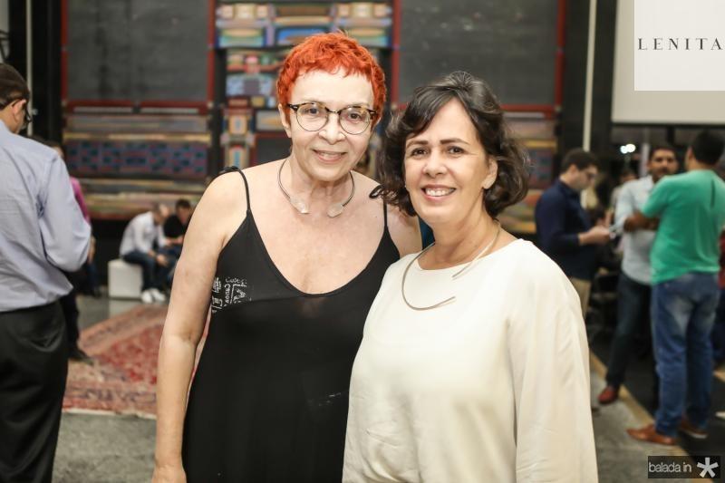 Eugenia Nogueira e Nelma Figueiredo