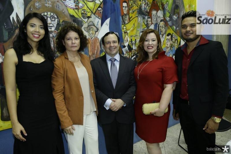 Nayana Vitoriano, Valeria Serpa, Igor e Aline Barroso e Leandro Oliveira