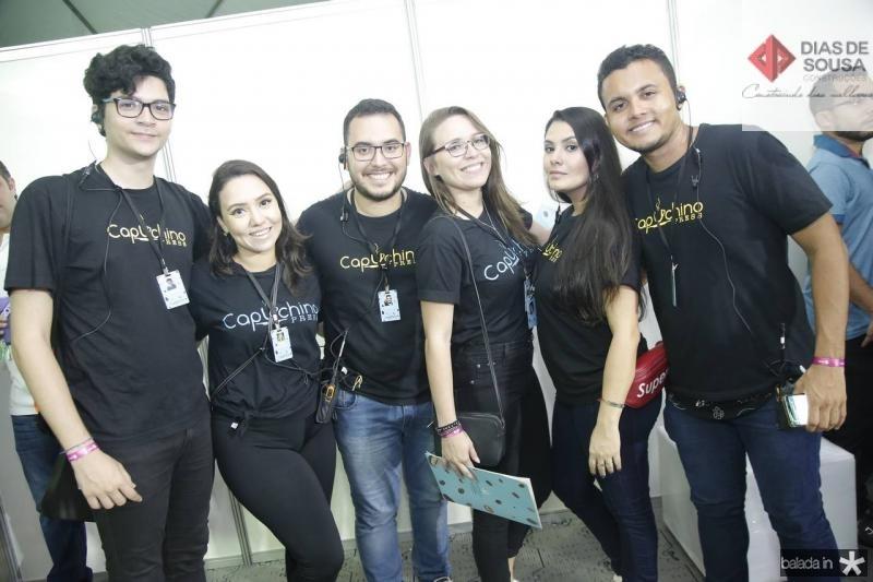 Rodrigo Araujo, Mayara Matos, Lucas Pessoa, Nely Oliveira, Mirely Costa e Elias Bruno