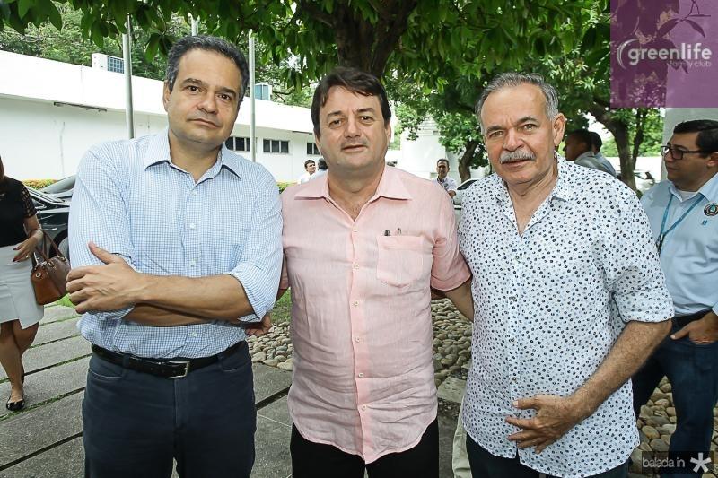 Henrique Lustosa, Benigno Junior e Paulo Faco