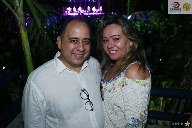 Adriano e Flavia Gomes