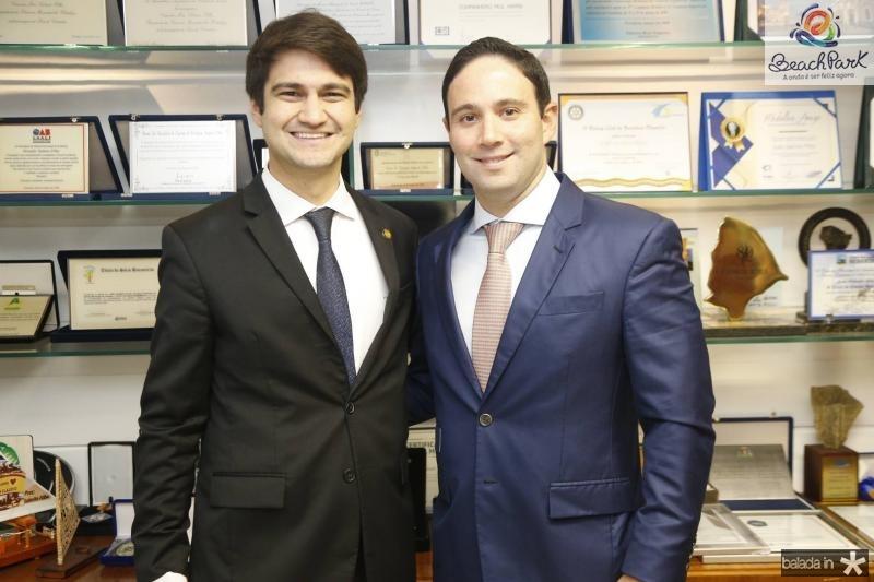 Pedro Gomes de Matos e Thiago Asfor
