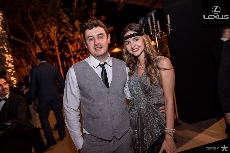 Felipe Olheiro e Karine Bonod