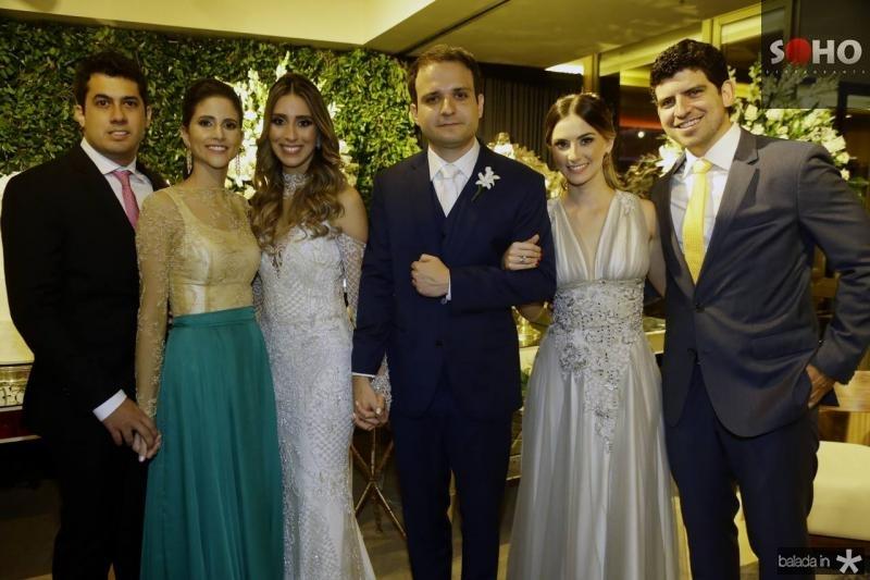 Arthur e Manoela Bezerra, Nathalia Ximenes, Rafael Lobo, Laime Paz e Lucas Camara