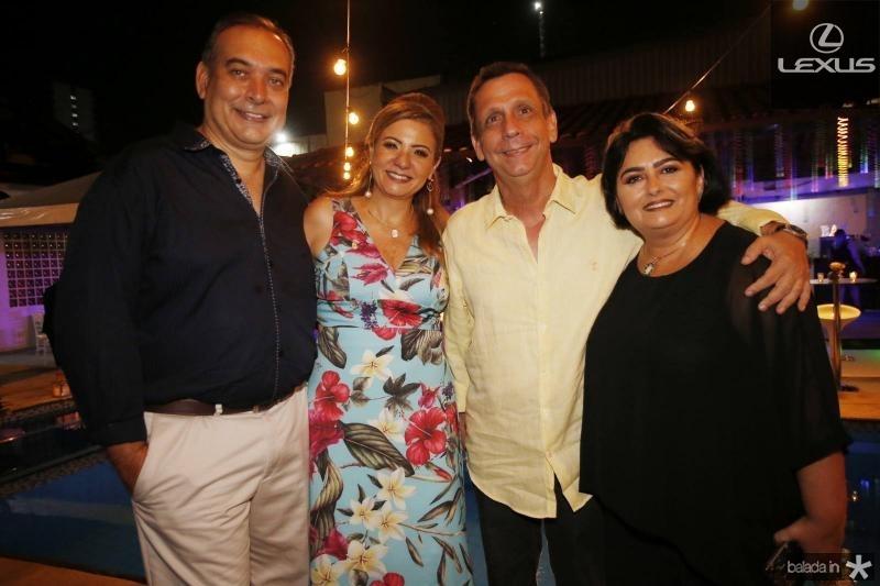Madson e Simone Cardoso, Cunha e Katia Matos