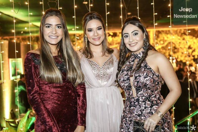 Nayara Jereissati, Juana Bahia e Jessica Alana
