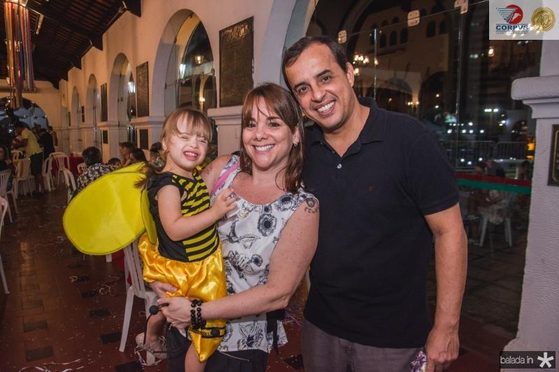 Bianca, Remode e Rafael Moraes