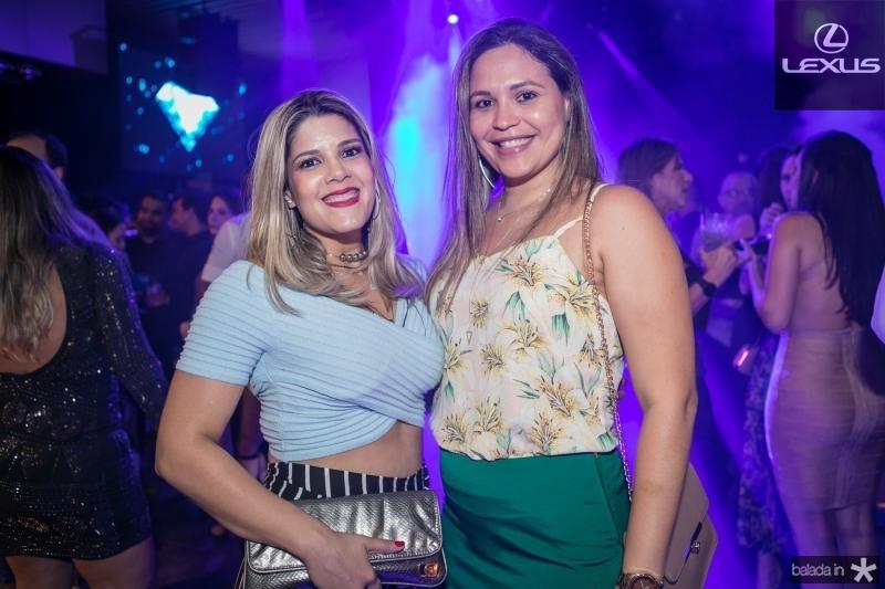 Mariana Carvalho e Barbara Monteiro