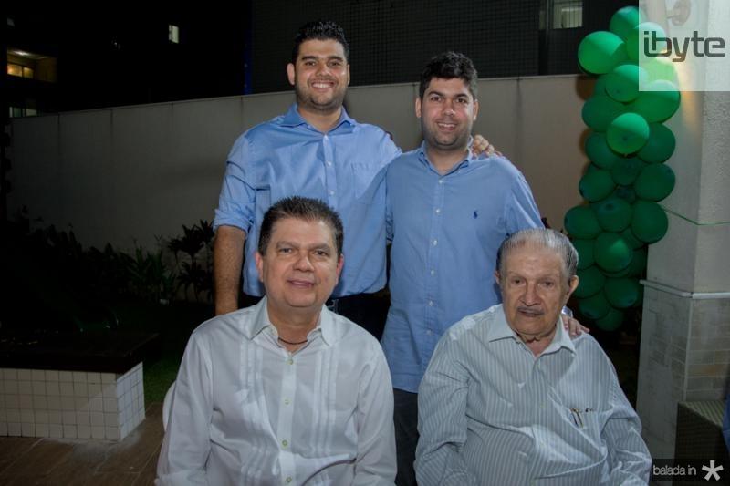 David, Mauro Neto, Mauro Filho e Mauro Benevides
