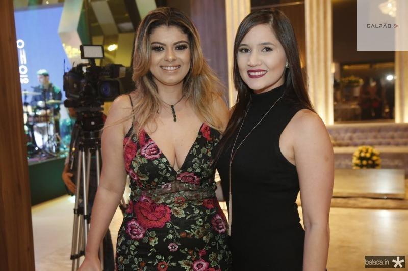 Edivania Weyne e Grace Linhares