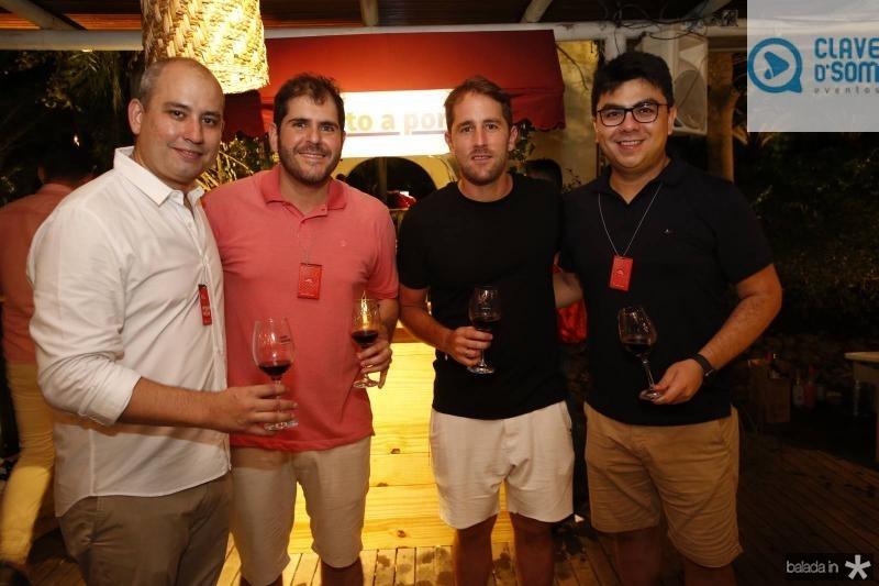 Andre Linheiro, Eduardo Castelao, Rodrigo Frota e Rolf Campos 1