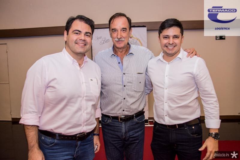 Marco Aurelio, Armando Abreu e Daniel Rios