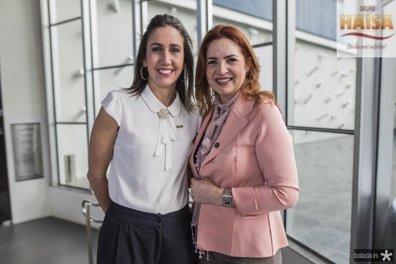 Alessandra Romana e Enid Camara