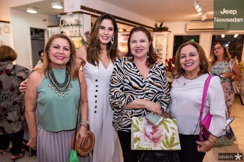 Ines Cals, Marilia Fiuza, Germana Viana e Graca Barreto