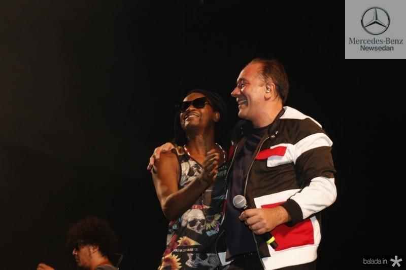 Tony Garrido e Bruno Gouveia