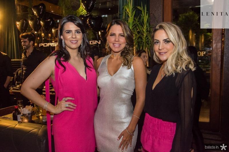 Priscila Fontenele, Ana Carolina Fontenele e Janine Cruz