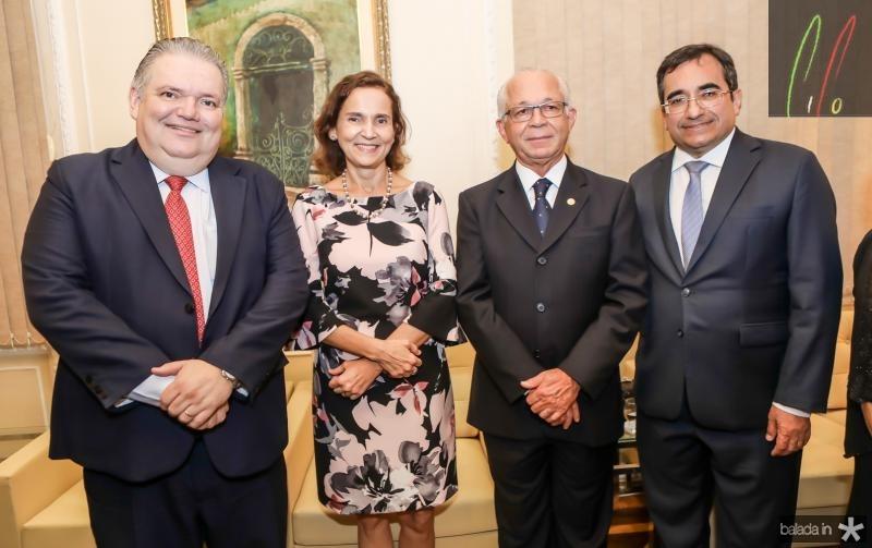 Jorge Medeiros, Izolda Cela, Brito Pereira e Jardson Cruz