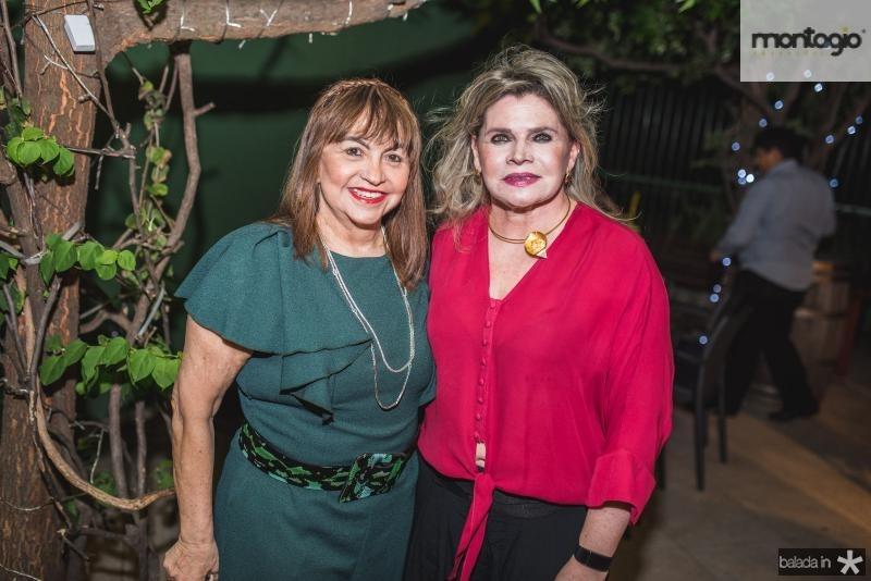 Carmen Cinira e Sandra Romcy