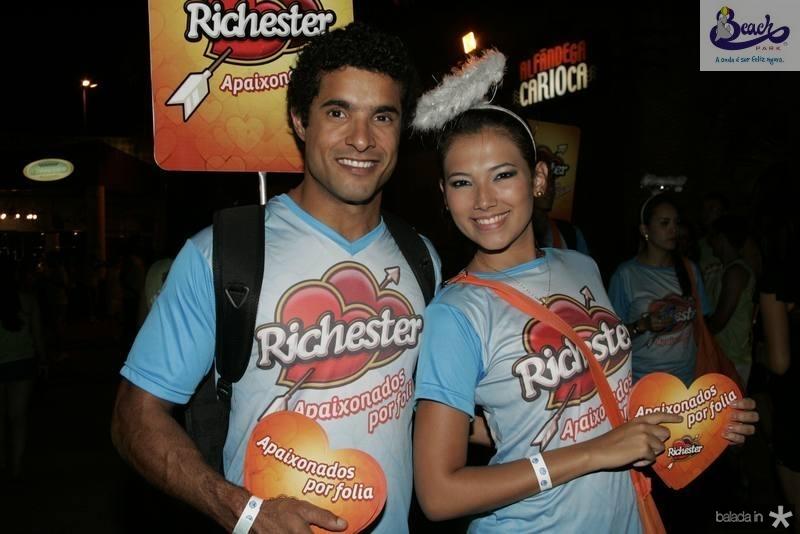 Rafael Medeiros e Vanessa Guerra