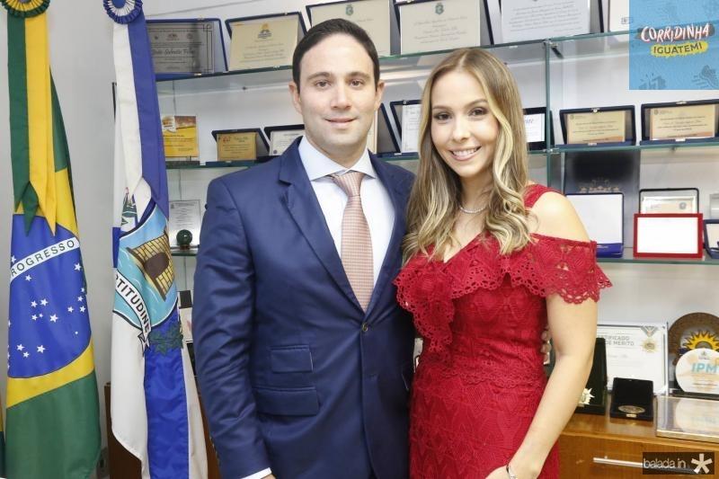 Thiago e Rafaela Asfor