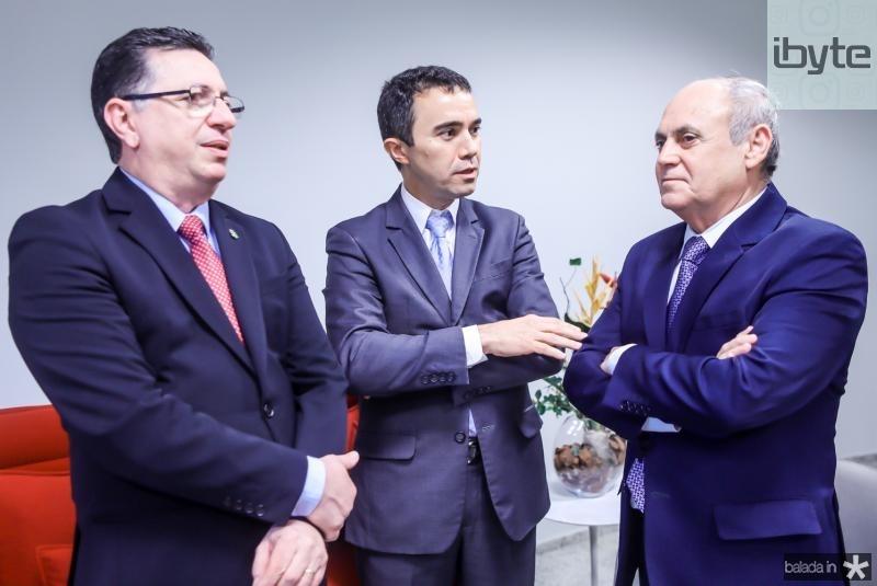 Flavio Juca, Placido Rios e Gladyson Pontes